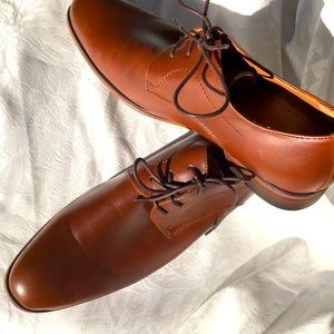New  H- Wood Formal -Leather look shoes Size 9